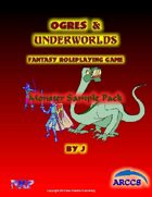 Ogres and Underworlds Monster Sample Pack