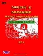 Swords and Savagery Expansion Pack 1