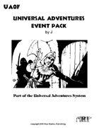 Universal Adventures Event Pack