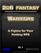 2d6 Fantasy: Warriors