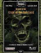 A24: Return to Crypt of the Sun Lord