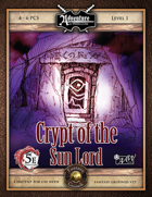 (5E) A01: Crypt of the Sun Lord (Fantasy Grounds)