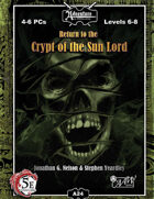 (5E) A24: Return to Crypt of the Sun Lord