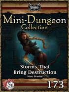 5E Mini-Dungeon #173: Storms that Bring Destruction