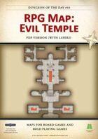 RPG Map 010: Evil Temple (pdf)