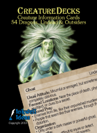 Creature Decks: Dragons, Undead & Outsiders (Ecologies/System Neutral)