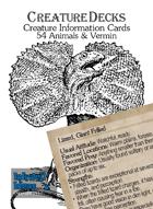 Creature Decks: Animals (Ecologies/System Neutral)
