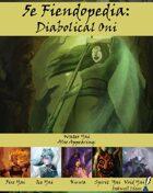 5e Fiendopedia: Diabolical Oni