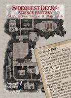 Sidequest Decks: Science Fantasy