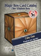 Magic Item Card Catalog: Other Wondrous Items