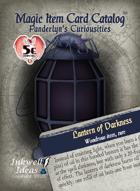 Magic Item Card Catalog: Panderlyn's Curiosities