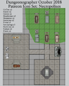 Dungeonographer Necropolis Map Icons (Any Editor)