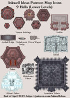 City/Village 9 Hells Lower Levels Map Icons (Any Editor)
