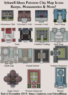 City/Village Keeps & Monasteries Map Icons (Any Editor)