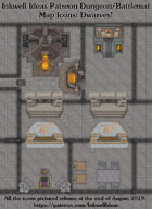 Dungeon/Battlemat Dwarven items Map Icons (Any Editor)