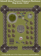 Dungeon/Battlemat Orc items Map Icons (Any Editor)