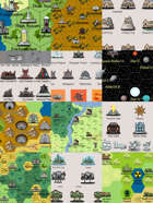 Worldographer 2019 World/Kingdom Classic Icons [BUNDLE]