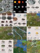 Worldographer 2019 World/Kingdom Isometric Icons [BUNDLE]