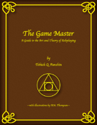 The Game Master: A Guide to the Art and Theory of Roleplaying (digital only)