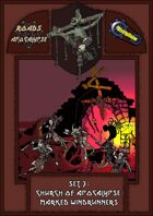 Roads of Apocalypse (4th ed.) - Set 3: Church of Apocalypse Marked Windrunners