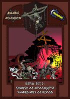 Roads of Apocalypse (4th ed.) - Demo-set 3: Church of Apocalypse. Guardians of Blood