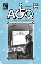 Accessible Gaming Quarterly Issue 3, January 2021