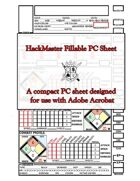 HackMaster Form-Fillable PC Sheet