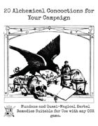 20 Alchemical Concoctions for Your Campaign