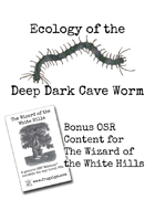 Ecology of the Deep Dark Cave Worm