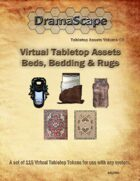 Virtual Tabletop Assets Beds, Bedding & Rugs