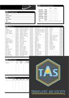 MgT Traveller Character Sheet
