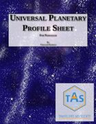 Universal Planetary Profile Sheet for Traveller