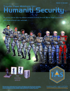 Traveller Paper Miniatures Vol. 1 Humaniti Security