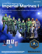Traveller Paper Miniatures Vol. 2 Imperial Marines I