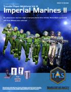 Traveller Paper Miniatures Vol. 3 Imperial Marines II