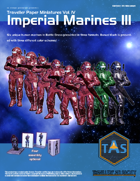 Traveller Paper Miniatures Vol. 4 Imperial Marines III