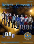 Traveller Paper Miniatures Vol. 8 Belters - Humaniti I