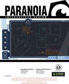 Paranoia - Spielleiterschirm (German language)