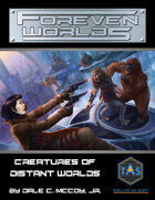 Foreven Worlds: Creatures of Distant Worlds (Traveller)