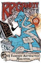 RPGPundit Presents #22: 13 Cursed Artifacts of Renown (Spanish)