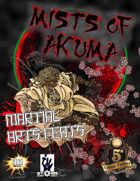 The Mists of Akuma - Martial Arts Feats