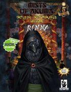 Mists of Akuma Iconic - Rinna, The Rösoku-Urasan