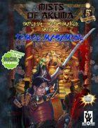 Mists of Akuma Iconic - Tomoe Masamune, The Crimson Blade