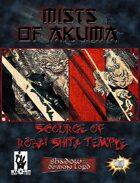 Mists of Akuma: Scourge of Robai-Shita Temple (Shadow of the Demon Lord)