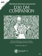 d30 DM Companion
