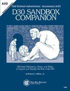 d30 Sandbox Companion