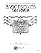 GM2a Basic Psionics GM Pack