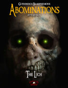 Blasphemous Abominations - The Lich