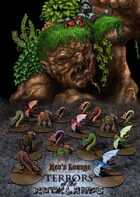 Kev's Lounge Paper Minis: Terrors of the Rocklands