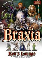 Kev's Lounge Paper Minis: Faces of Braxia